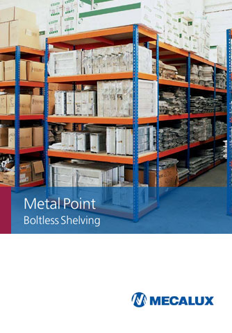 Metal Point shelving