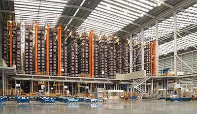 Case study automated warehouse: Porcelanosa