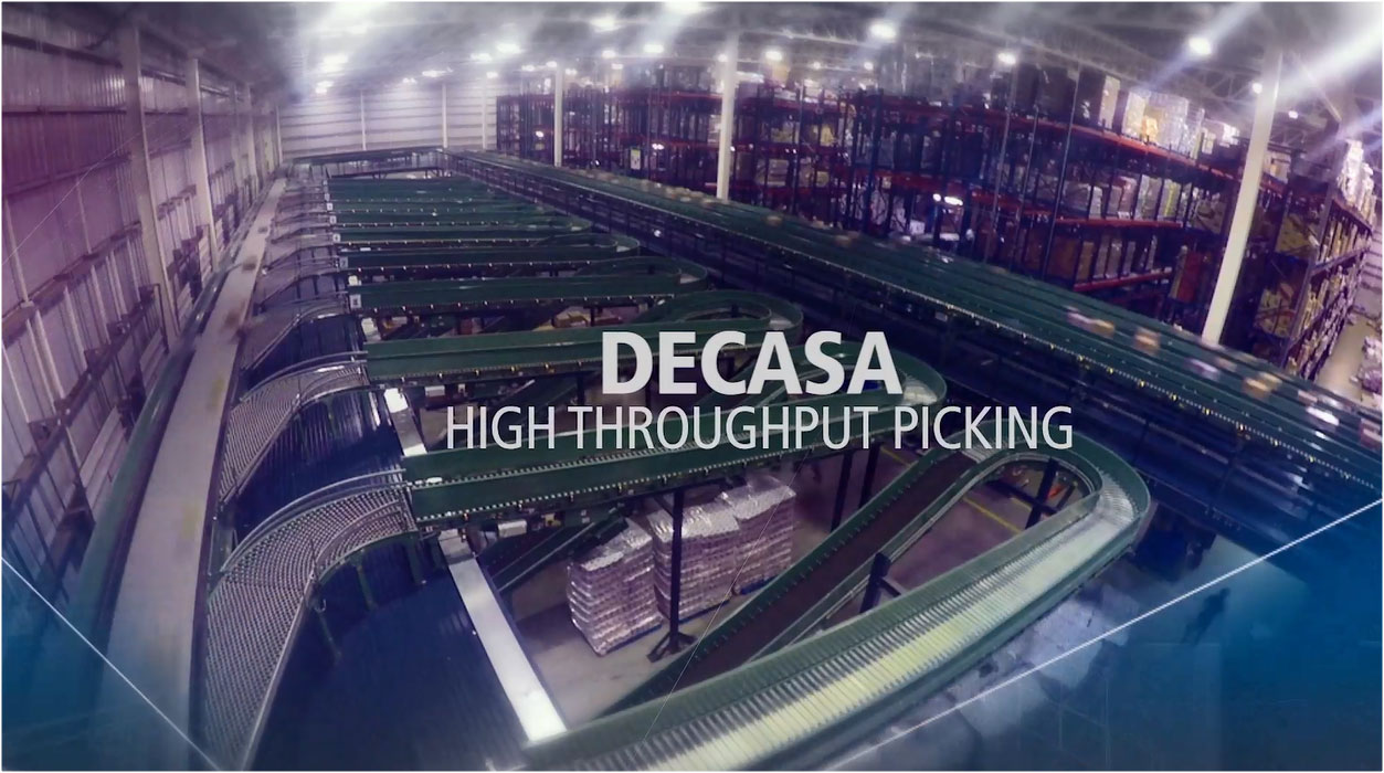 Case study automated warehouse: Decasa
