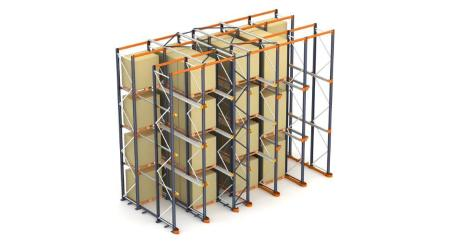 Drive-in racks: Compact pallet storage