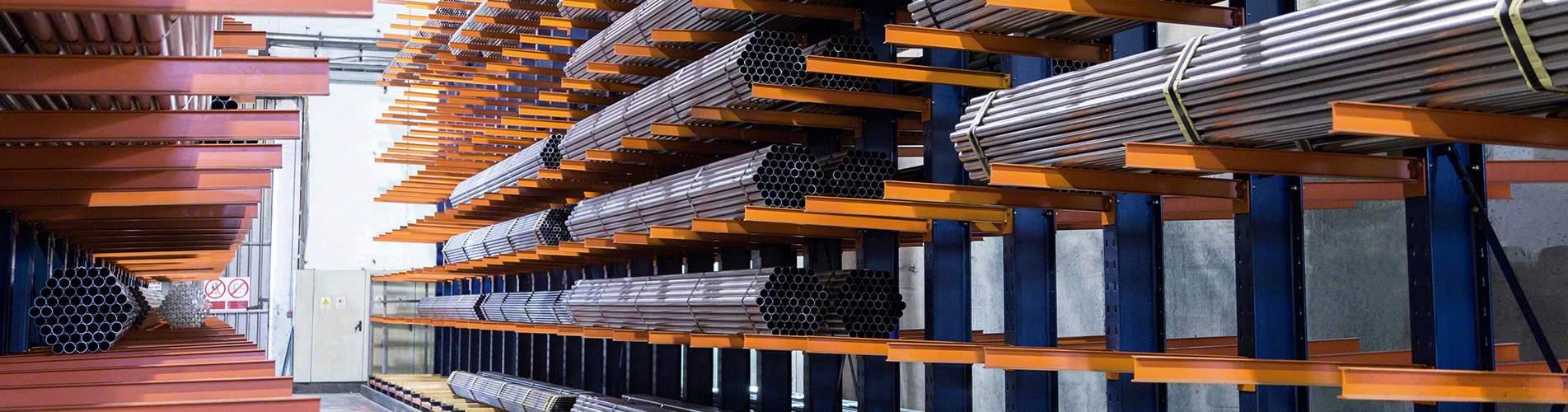 Medium and heavy duty cantilever racks