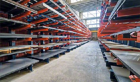 Medium and heavy duty cantilever racks