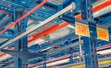 Fire protection measures for metal racks and warehouses