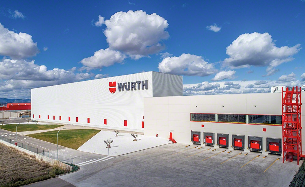 The new automated warehouse of Würth Spain