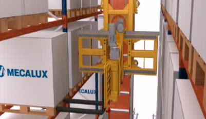 Automatic Trilateral Stacker Cranes