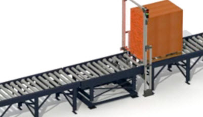 Conveyor system for pallets