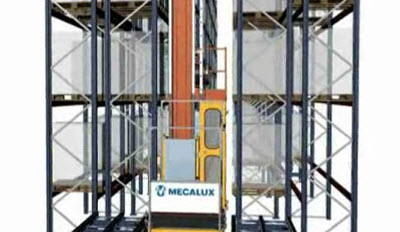 Stacker cranes: Extractions in double-deep racks