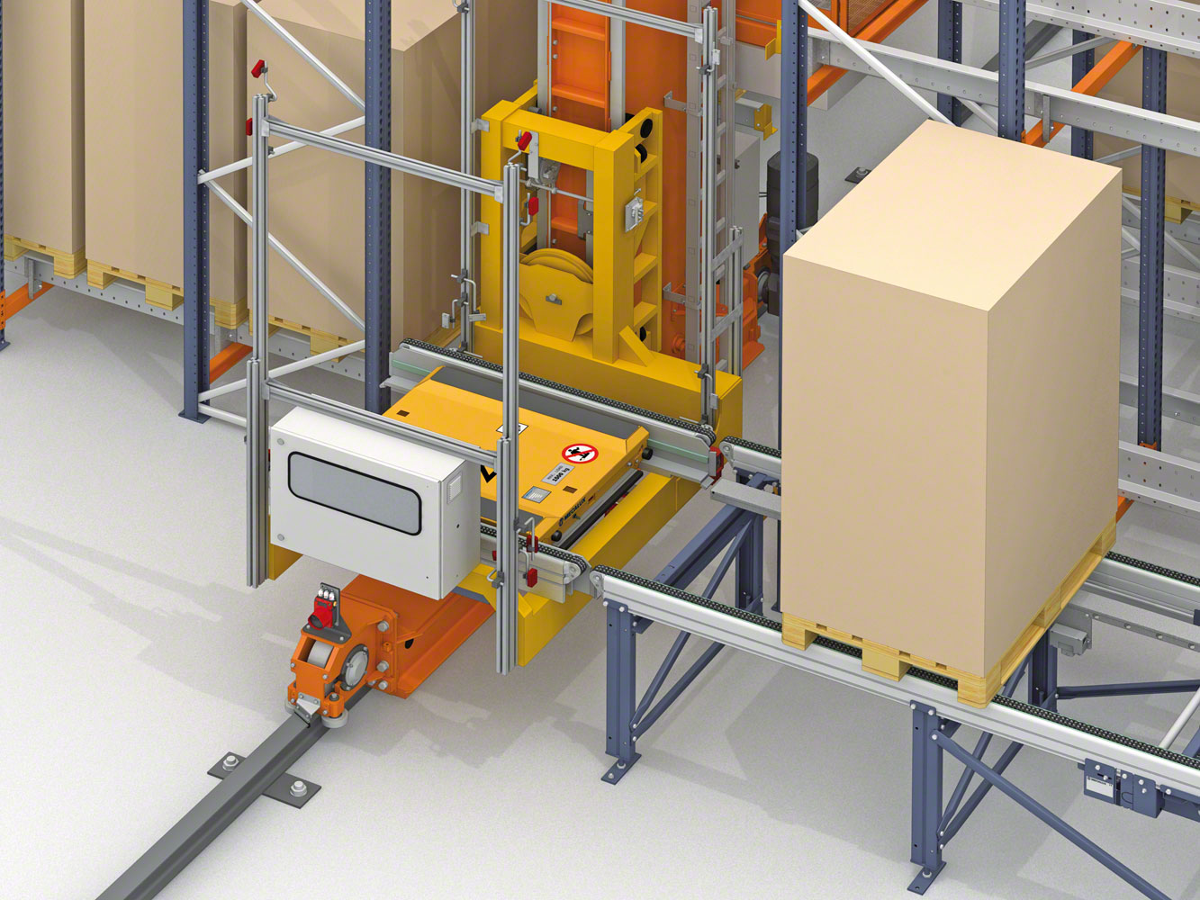Mecalux will equip two Lanxess warehouses in Germany with Pallet Shuttle system