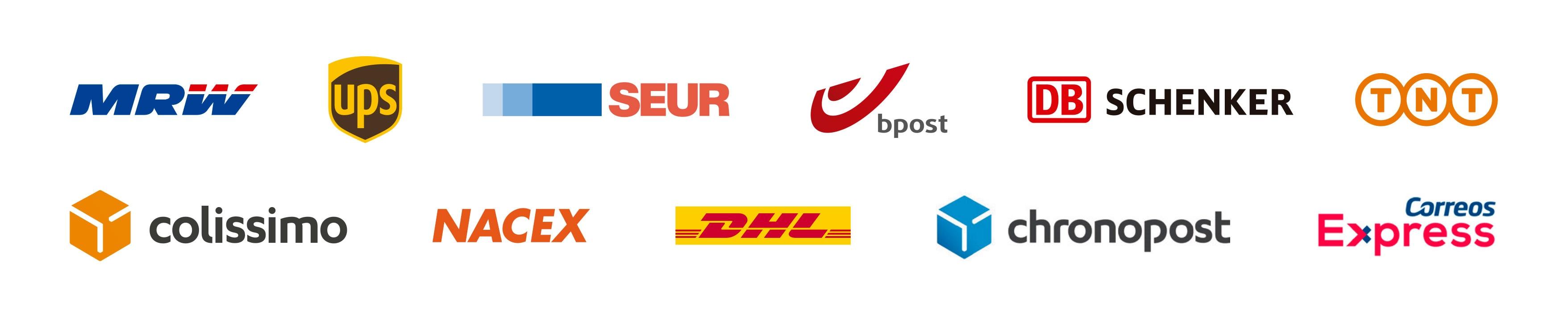 Integración con diferentes empresas de transporte