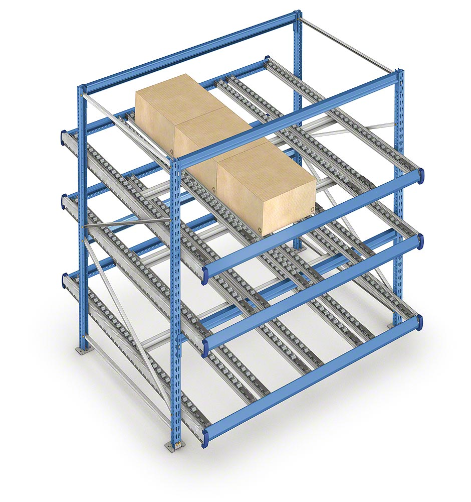 Live storage for picking